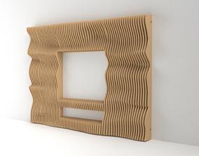 Parametric TV 3D model 01 wave