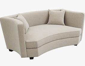 3D model Eichholtz Giulietta small sofa