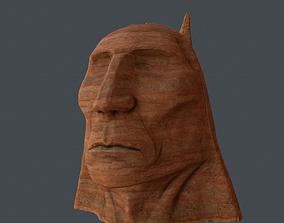 Chieftain stone head 3D model