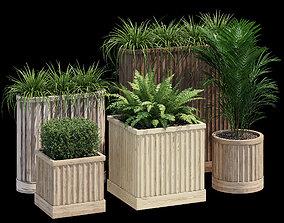 3D model Bamboo planter