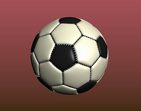Soccer ball 3D print model