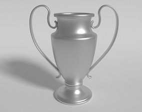 Football - Soccer Trophy Cup 3D asset