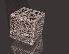 Voronoi style cube primitive for 3D printing