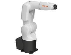 Kuka KR 4 Agilus Industrial Robot 3D