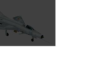 mig 21 F13 3D model