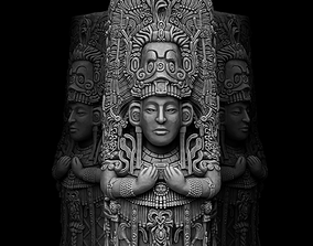 Ancient Mayan Statue 3D printable model