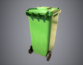 Recycle Bin 3D model realtime
