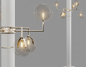 3D asset Turri Lowpoly madison standing lamp
