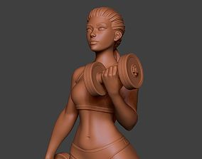 3D print model Woman Sport