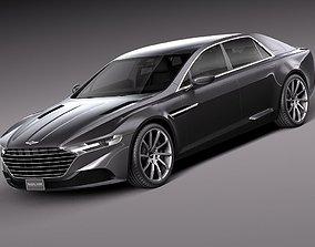 3D Aston Martin Lagonda 2016