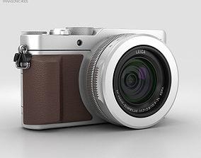 Panasonic Lumix DMC-LX100 Silver 3D