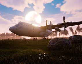 3D asset US C-130