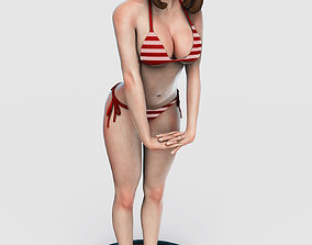 3D printable model Uraraka Summer Beach STLs - My Hero