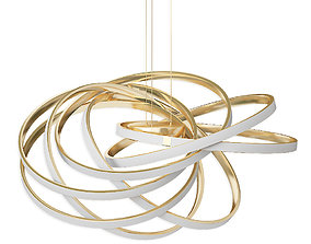 Hanging chandelier ST Luce Canento SL957 202 06 3D