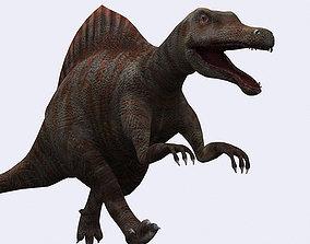 animated 3DRT - Dinosaurs - Spinosaurus