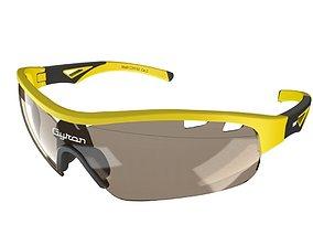 3D model Sporty wrap around sunglasses