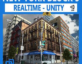 NYC Block 5 Unity 3D asset