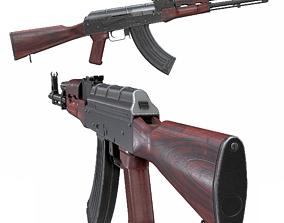 Rifle AK-47 AKM 3D asset