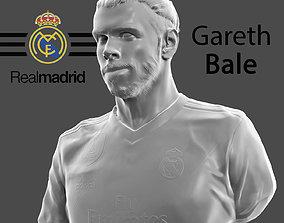 real Gareth Bale 3d model