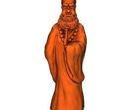 3D printable model Bodhidharma5