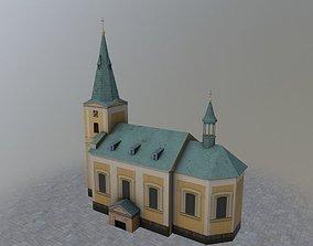 3D model Karlovy Vary Kostel Andelske
