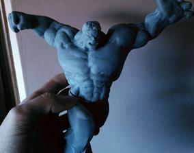 Anime character Hulk Hulk 3D design model 3D printed file