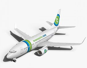 3D Transavia Boeing 737-700w