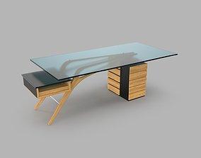 Cavour Desk forest 3D