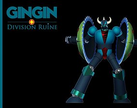 GinGin Saucer Beast of Captain Gorman - FDM 3D print model