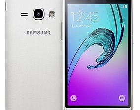3D Samsung Galaxy J1 2016 White