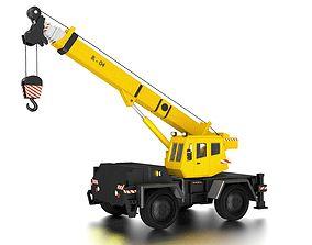 Crane 3D asset realtime