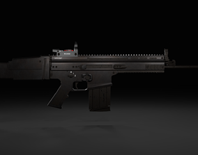 assault 3d Scar-L