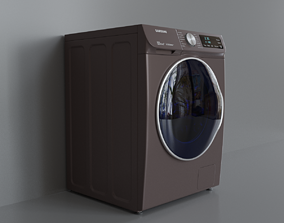 3D model samsung Samsung washing machine