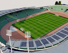 3D Bislett Stadium - Norway