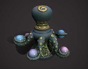 Octopus flowerpot 3D asset