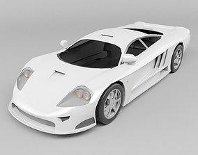 Concept car 3D asset