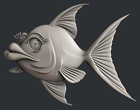 3d Models for 3d printer anime fish