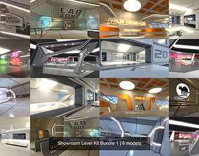 Showroom Level Kit Bundle 1 3D model PBR