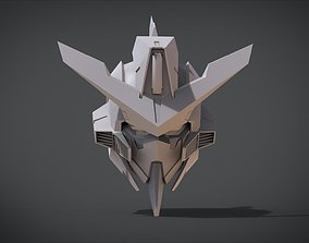 GN-003 Gundam Kyrios Head 3D print model