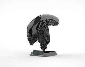 Alien Xenomorph Bust 3D printable model