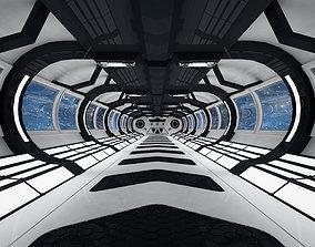 3D model SCI FI INTERIOR SCENE SPACE SHIP