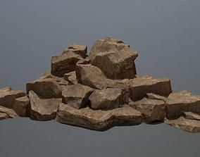 rocks 3D asset realtime mount