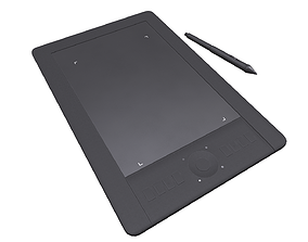 realtime Graphics tablet 3D model