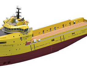Platform Supply Vessel World Peridot 3D model