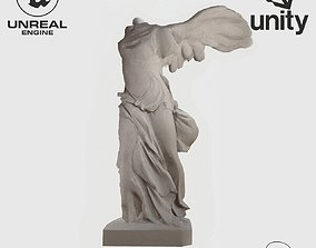 3D asset VR Sculpture Winged Victory Nike of Samothrace