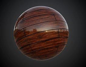 3D Wood Floor Planks Seamless PBR Texture