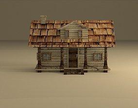 Old Little House 3D asset