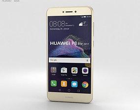 3D model Huawei P8 Lite 2017 Gold