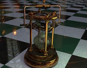 Hourglass Steampunk 3D