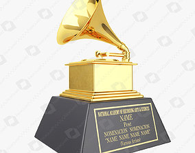 Grammy Award Trophy 3D